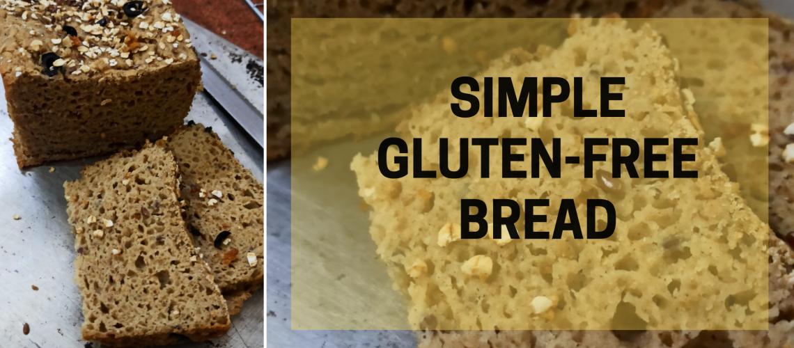 Gluten free bread loaf