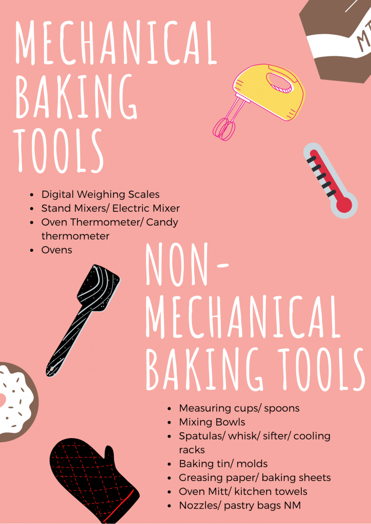 Mechanical and Non-Mechanical Baking tools