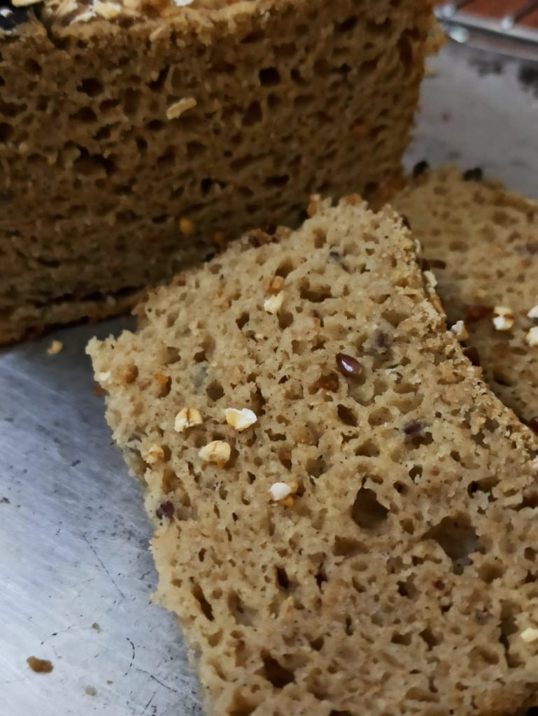Dense structure of Gluten-Free Bread