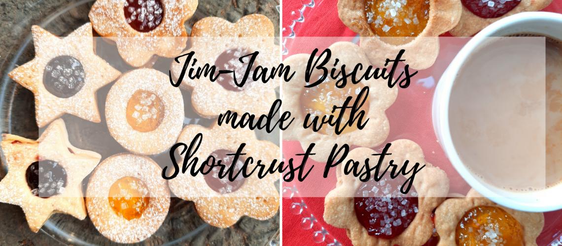 Shortcrust Jim-jam biscuits