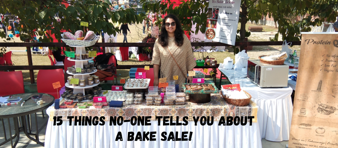 15 Things No-one tells you about a Bake sale